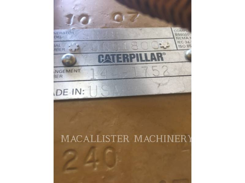 CATERPILLAR STATIONARY GENERATOR SETS 3508B equipment  photo 12