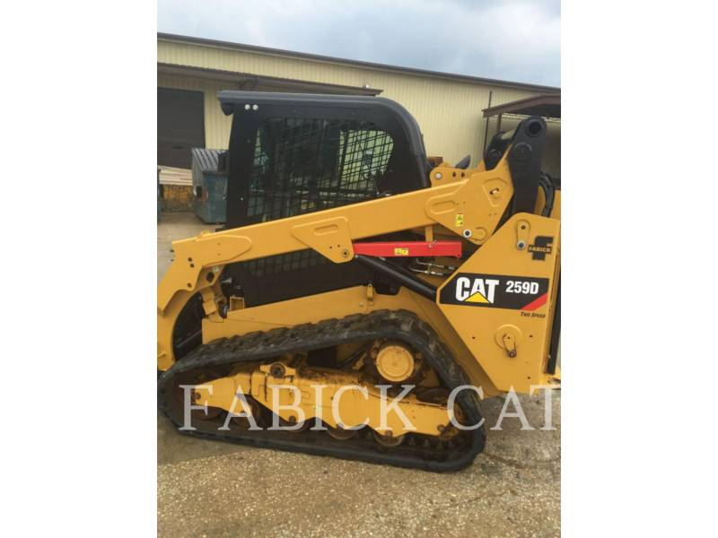 CATERPILLAR MULTI TERRAIN LOADERS 259D C3H2 equipment  photo 3