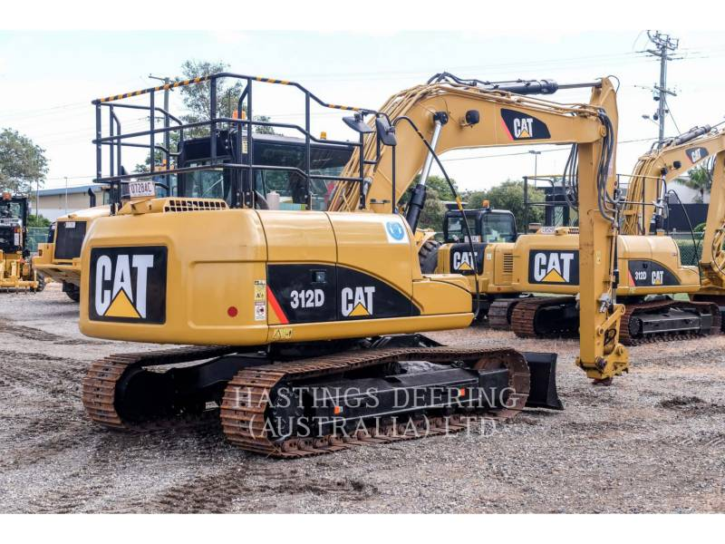 CATERPILLAR TRACK EXCAVATORS 312D equipment  photo 7
