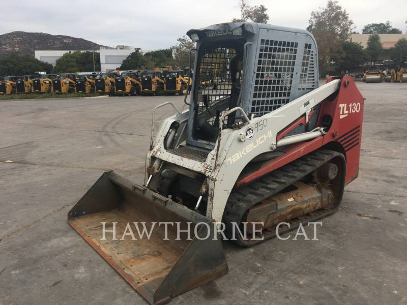 TAKEUCHI MFG. CO. LTD. SKID STEER LOADERS TL130 SSL equipment  photo 6