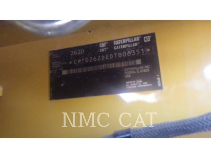 CATERPILLAR MINICARGADORAS 262D equipment  photo 6