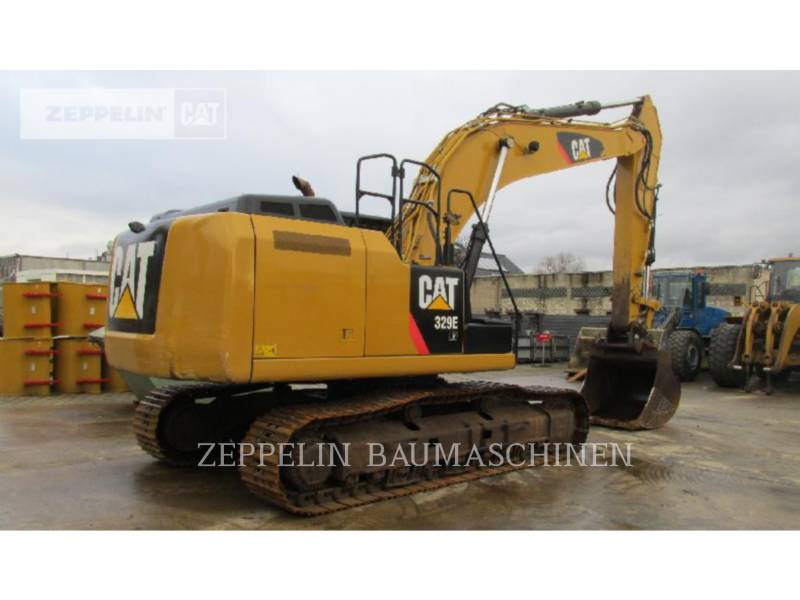CATERPILLAR TRACK EXCAVATORS 329ELN equipment  photo 3