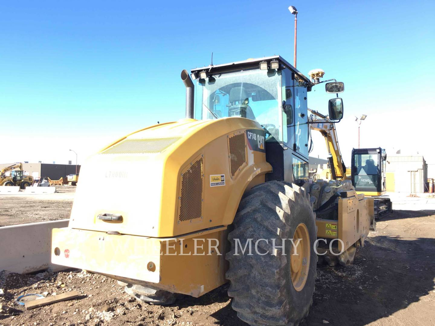 Detail photo of 2013 Caterpillar CP74B from Construction Equipment Guide