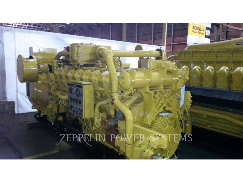 CATERPILLAR STACJONARNY — GAZ ZIEMNY G3516 equipment  photo 1