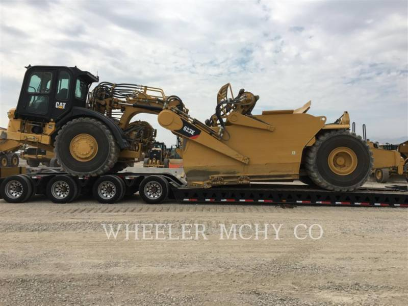 CATERPILLAR WHEEL TRACTOR SCRAPERS 623K equipment  photo 8
