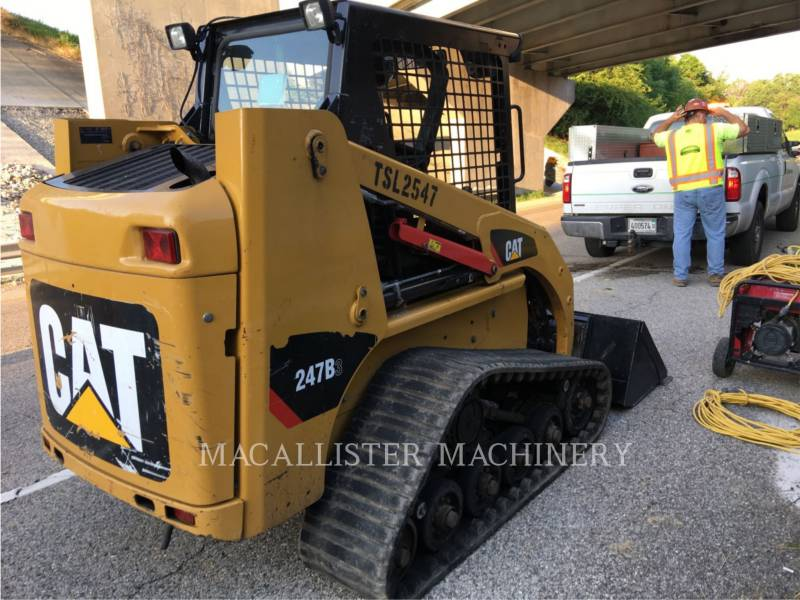 CATERPILLAR CARGADORES MULTITERRENO 247B3 equipment  photo 4