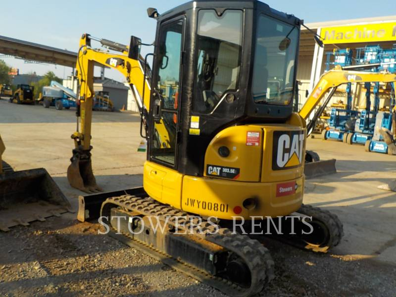 CATERPILLAR TRACK EXCAVATORS 303.5E CAB equipment  photo 3