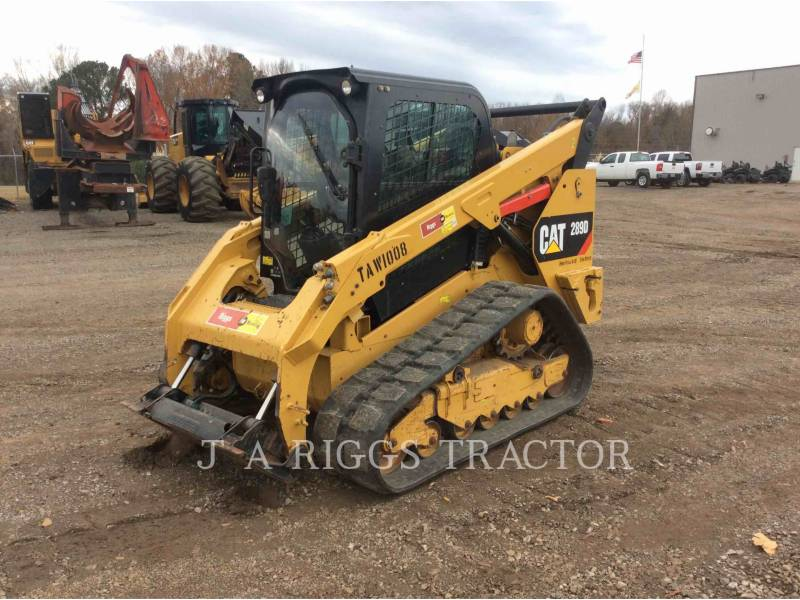 CATERPILLAR SKID STEER LOADERS 289D AH equipment  photo 1
