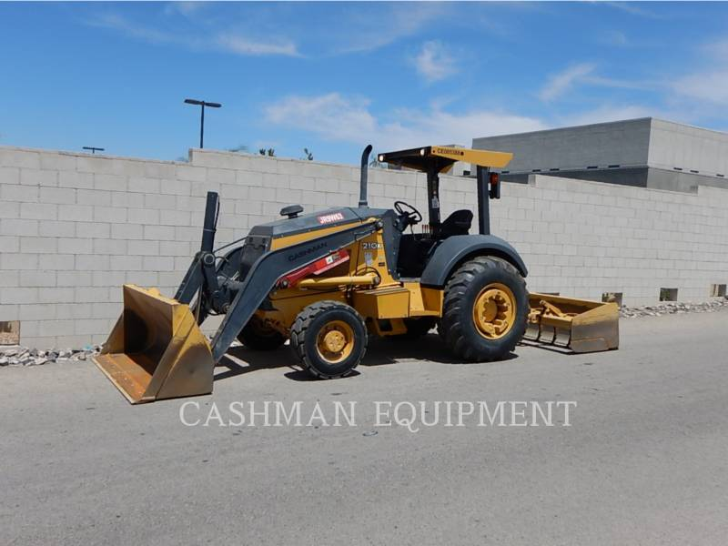 JOHN DEERE CARGADOR INDUSTRIAL 210K equipment  photo 1