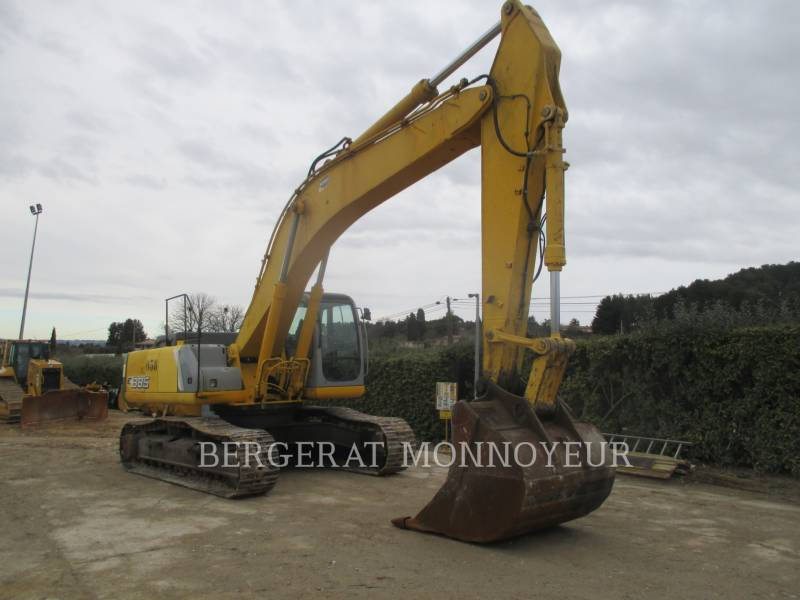 FORD / NEW HOLLAND TRACK EXCAVATORS E385 equipment  photo 1