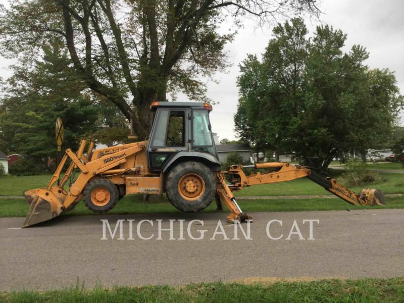 CASE BACKHOE LOADERS 580SL equipment  photo 15