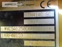 CATERPILLAR MANIPULADORES TELESCÓPICOS TH414C equipment  photo 7
