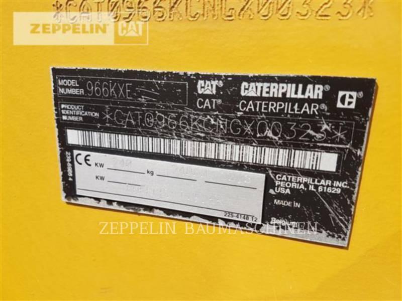 CATERPILLAR CARGADORES DE RUEDAS 966KXE equipment  photo 18