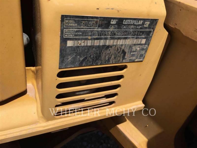 CATERPILLAR ESCAVADEIRAS 304CCR equipment  photo 6