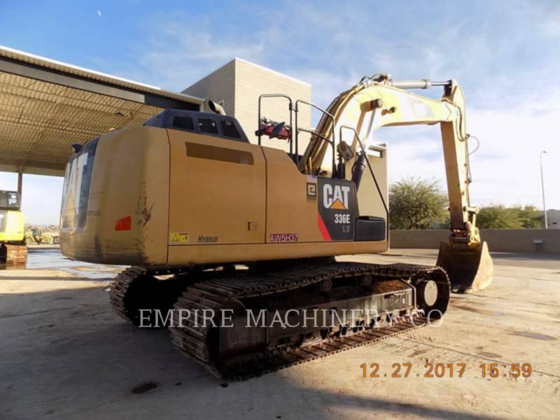 CATERPILLAR TRACK EXCAVATORS 336EL HYB equipment  photo 2