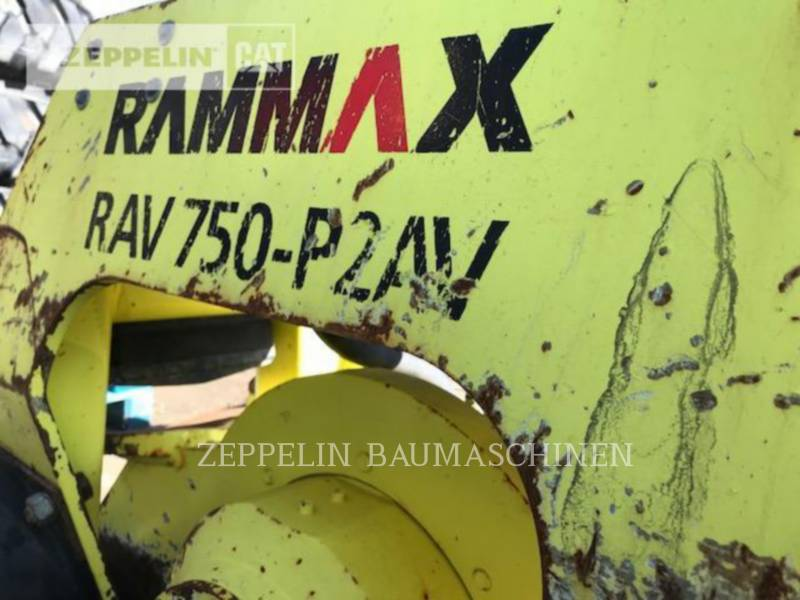 RAMMAX  VIBRATORY PLATE COMPACTOR Prim.-Prod. Komponen equipment  photo 2