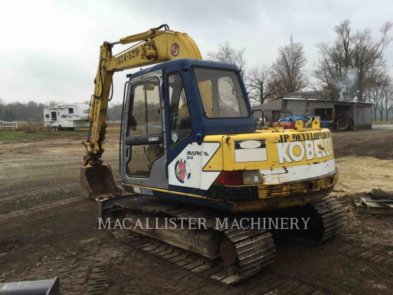 KOBELCO / KOBE STEEL LTD TRACK EXCAVATORS SK60 equipment  photo 4