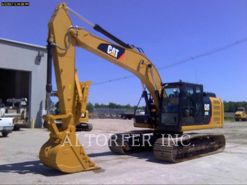 CATERPILLAR PELLES SUR CHAINES 320EL TH equipment  photo 1