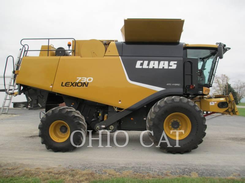 CLAAS OF AMERICA COMBINES LEX730 equipment  photo 16