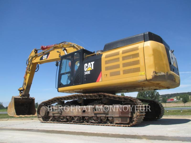 CATERPILLAR KOPARKI GĄSIENICOWE 349ELVG equipment  photo 4