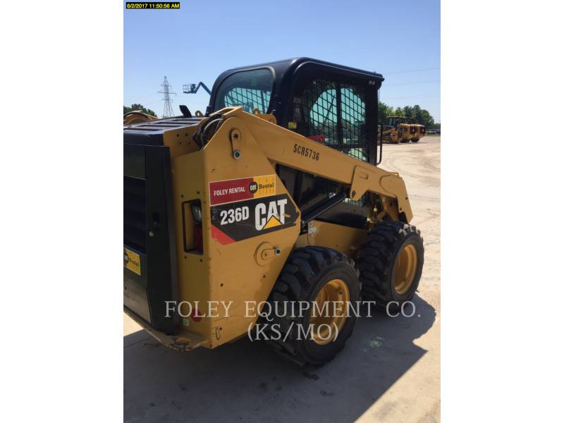 CATERPILLAR CHARGEURS COMPACTS RIGIDES 236DSTD1CA equipment  photo 4