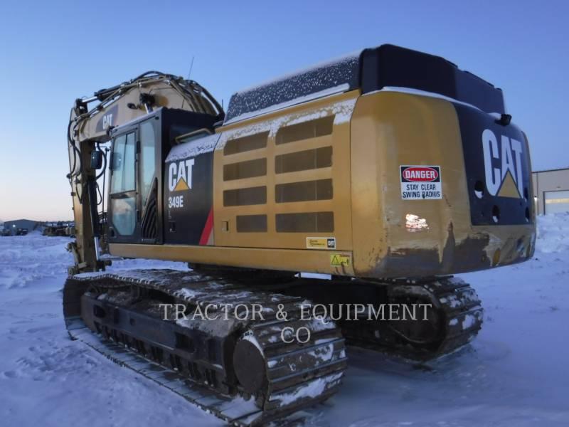 CATERPILLAR TRACK EXCAVATORS 349E L equipment  photo 2