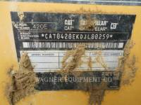 CATERPILLAR BAGGERLADER 420E 4WD equipment  photo 5