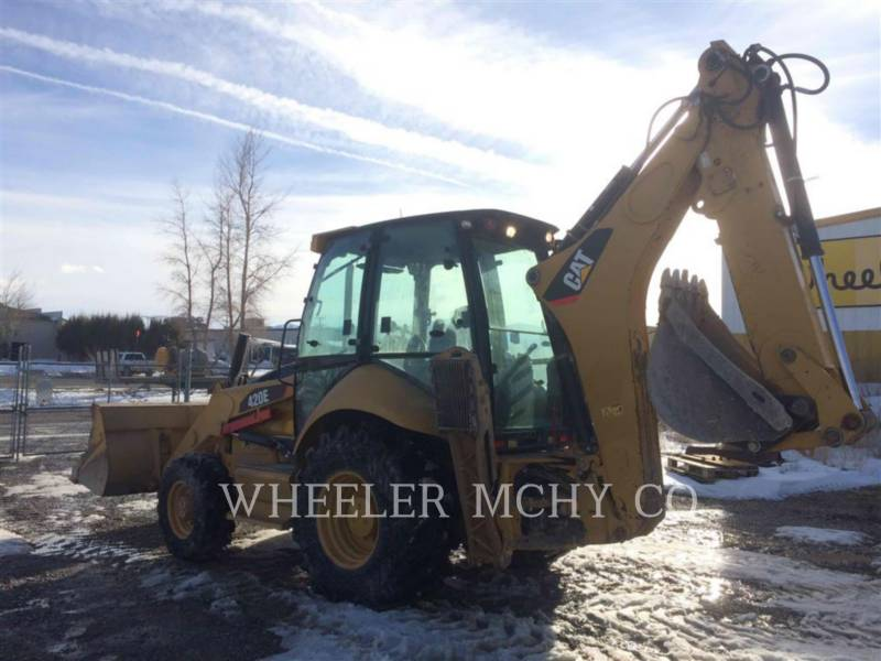 CATERPILLAR BACKHOE LOADERS 420E E AS equipment  photo 3