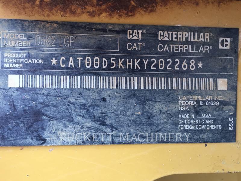 CATERPILLAR TRACK TYPE TRACTORS D5K2 equipment  photo 20