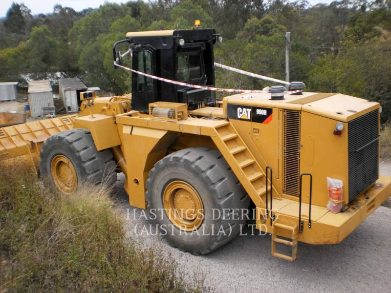 CATERPILLAR BERGBAU-RADLADER 990H equipment  photo 2