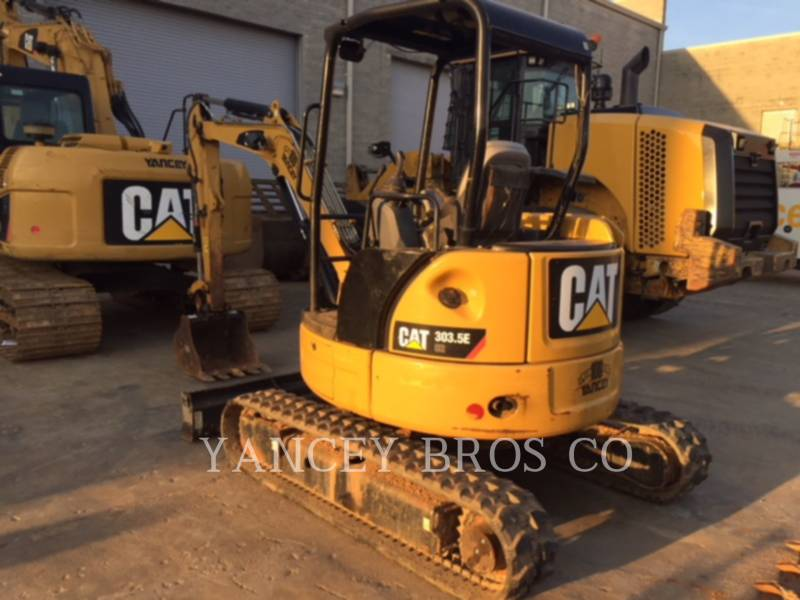 CATERPILLAR PELLES SUR CHAINES 303.5E CR equipment  photo 4