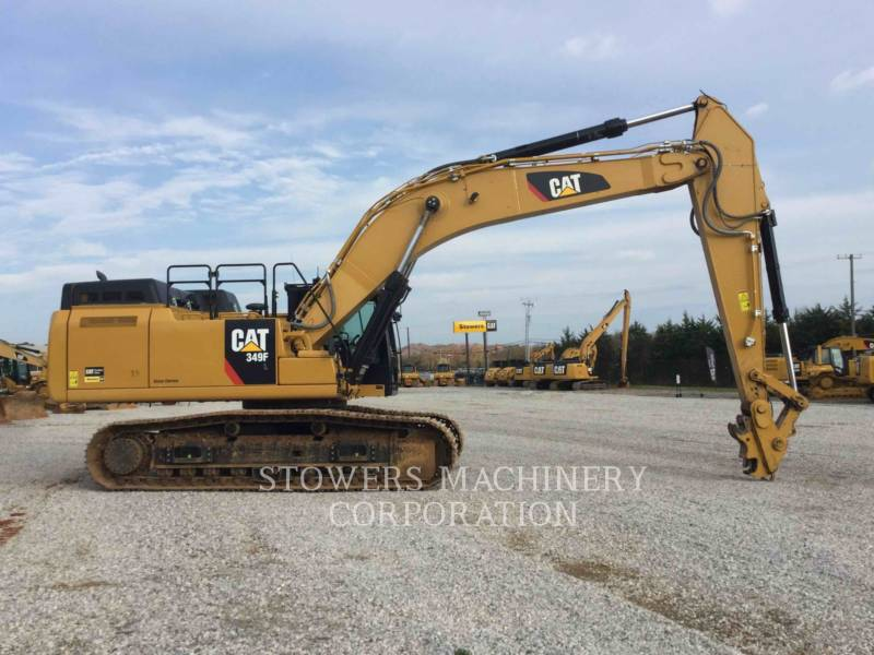 CATERPILLAR KETTEN-HYDRAULIKBAGGER 349F equipment  photo 5