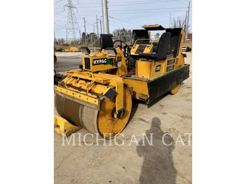 HYPAC VIBRATORY DOUBLE DRUM ASPHALT C330B equipment  photo 2