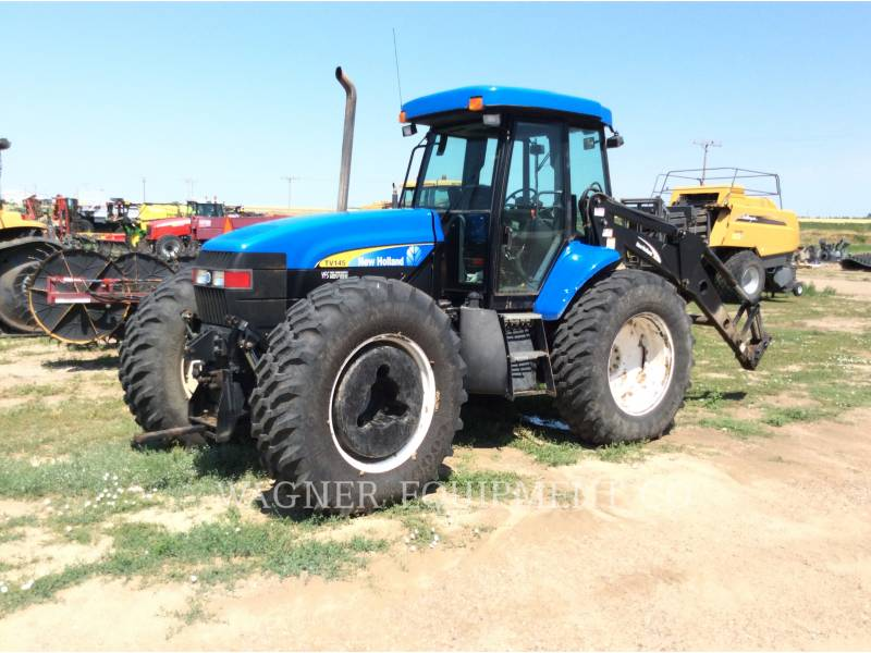 NEW HOLLAND LTD. TRACTORES AGRÍCOLAS TV145 equipment  photo 1