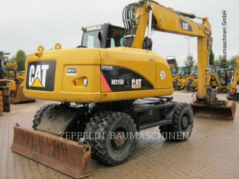 CATERPILLAR PELLES SUR PNEUS M315D equipment  photo 3
