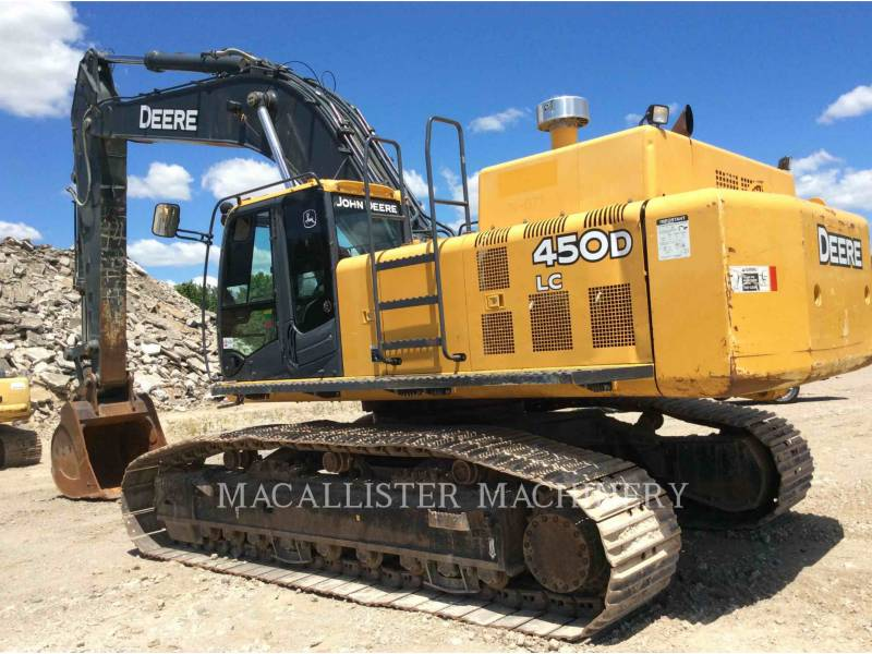JOHN DEERE TRACK EXCAVATORS 450D LC equipment  photo 1
