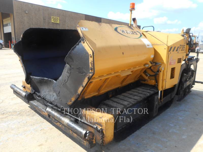 WEILER PAVIMENTADORA DE ASFALTO P 385 A equipment  photo 4