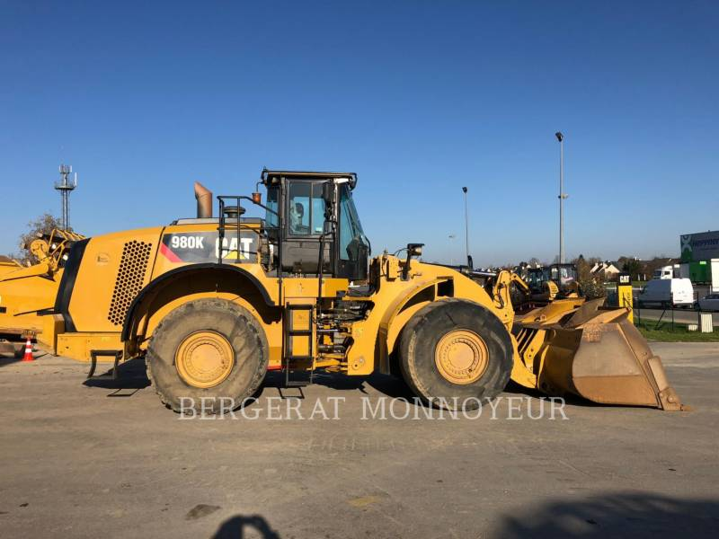 CATERPILLAR CARGADORES DE RUEDAS PARA MINERÍA 980K equipment  photo 7