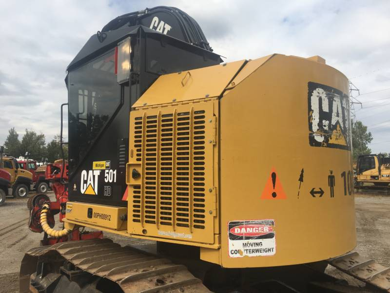CATERPILLAR FORESTRY - FELLER BUNCHERS - TRACK 501HD equipment  photo 4