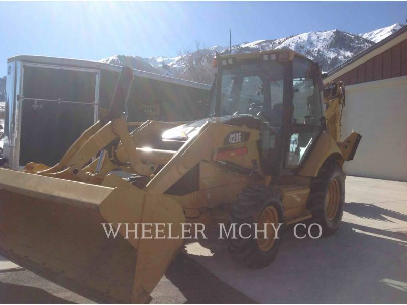 CATERPILLAR CHARGEUSES-PELLETEUSES 420E E equipment  photo 2