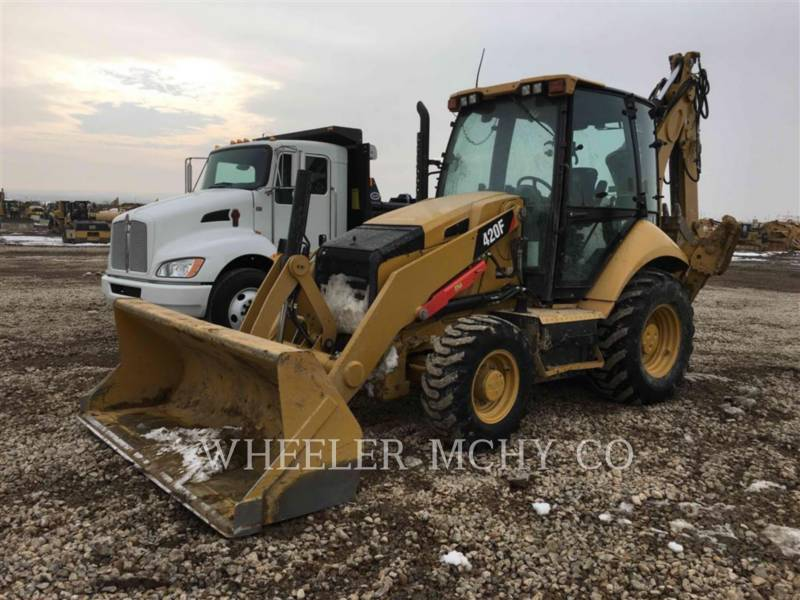 CATERPILLAR BACKHOE LOADERS 420F E TH equipment  photo 1