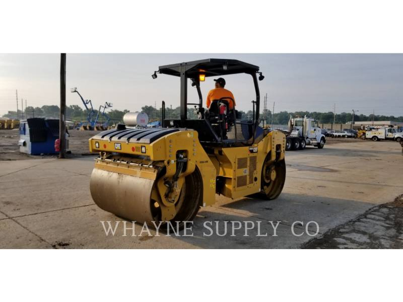 CATERPILLAR VIBRATORY DOUBLE DRUM ASPHALT CB54B equipment  photo 7
