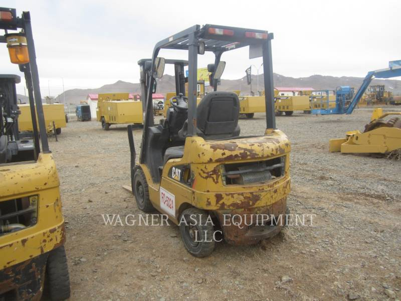 MITSUBISHI CATERPILLAR FORKLIFT FORKLIFTS DP15ND equipment  photo 6