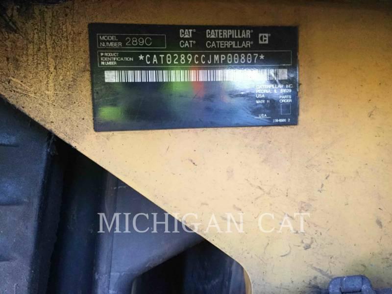 CATERPILLAR CARGADORES MULTITERRENO 289C equipment  photo 24