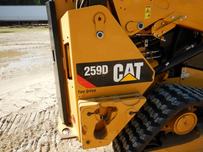 CATERPILLAR MULTI TERRAIN LOADERS 259D equipment  photo 23