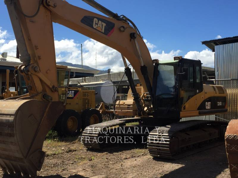 CATERPILLAR PELLES SUR CHAINES 324 D L ME equipment  photo 1
