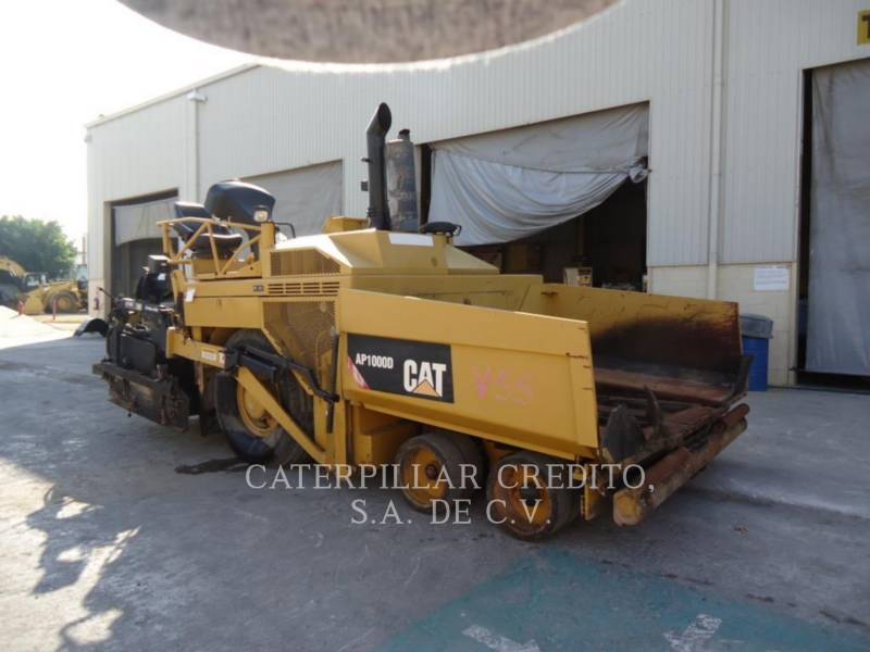 CATERPILLAR ASPHALT PAVERS AP 1000 D equipment  photo 1