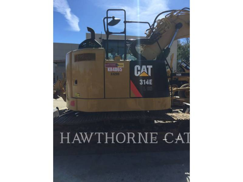 CATERPILLAR TRACK EXCAVATORS 314E CRTH equipment  photo 6
