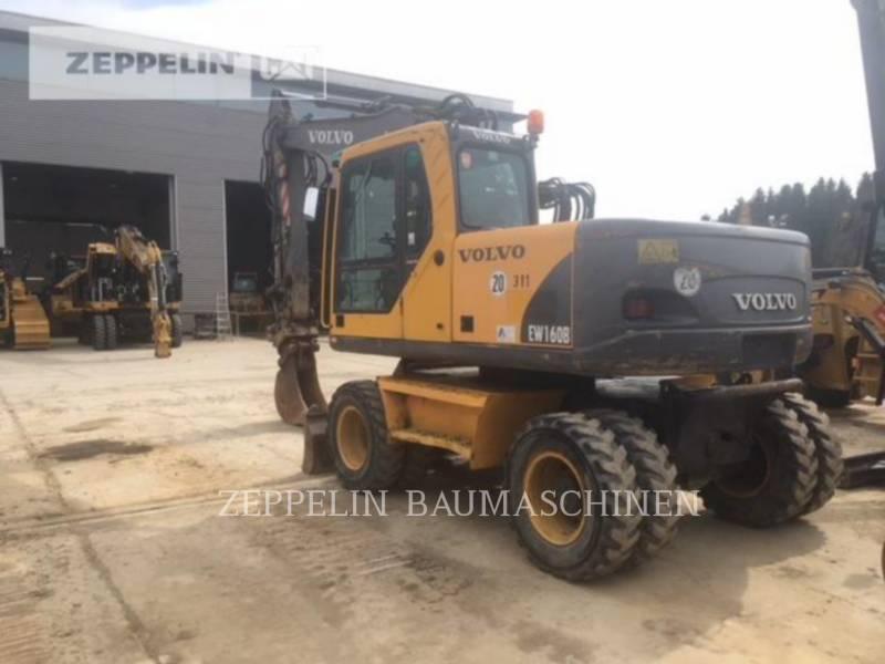 VOLVO CONSTRUCTION EQUIPMENT EXCAVADORAS DE RUEDAS EW160B equipment  photo 4
