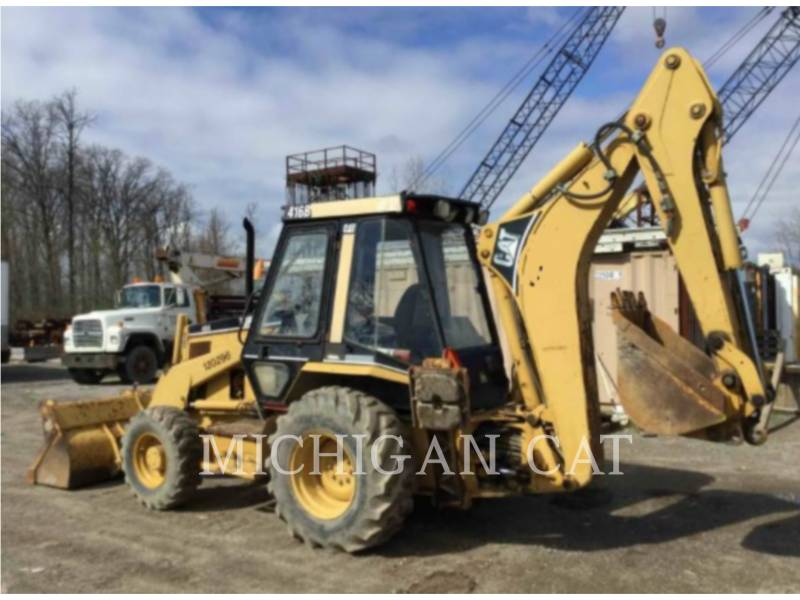CATERPILLAR RETROEXCAVADORAS CARGADORAS 416B C equipment  photo 3
